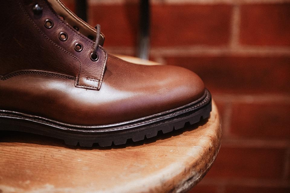 Boots Crockett & Jones Ross conception trepointe