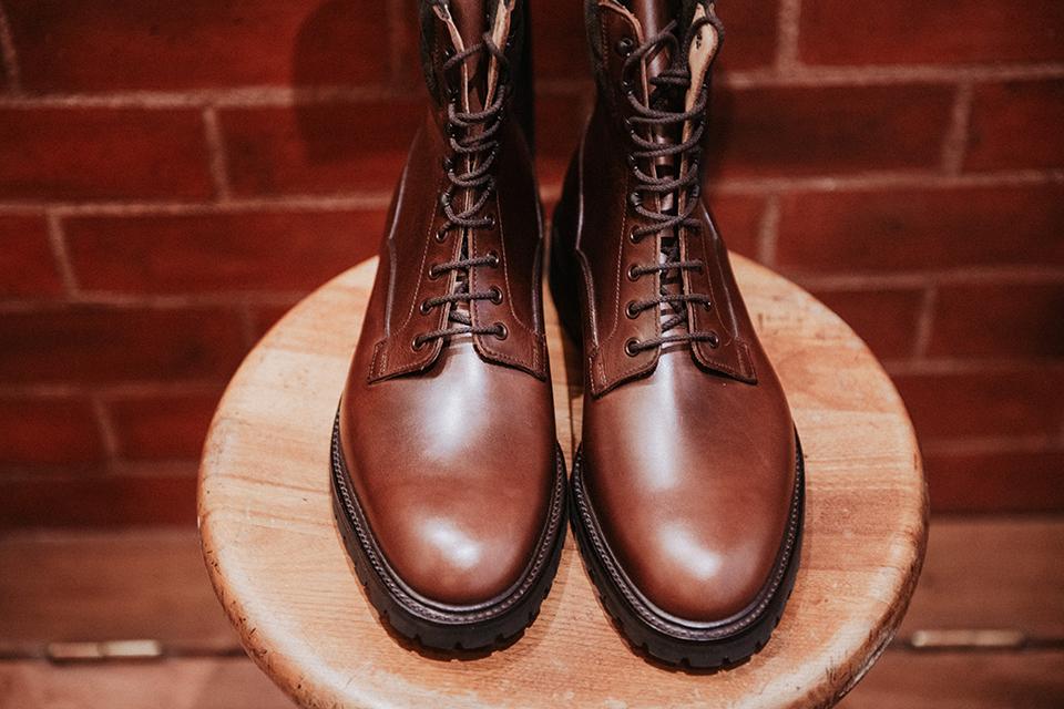Boots Crockett & Jones Ross design bout