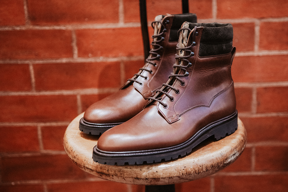 Boots Crockett & Jones Ross design paire
