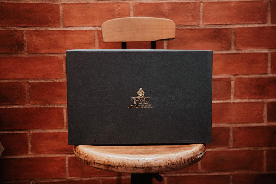 Boots Crockett & Jones Ross presentation boite