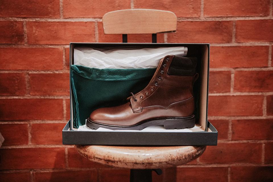 Boots Crockett & Jones Ross presentation chaussures