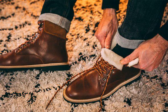 Boots hiver M Moustache