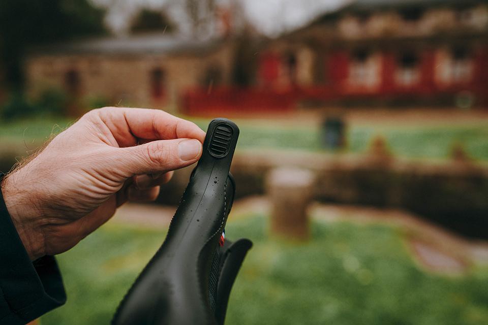 boots Montlimart conception languette