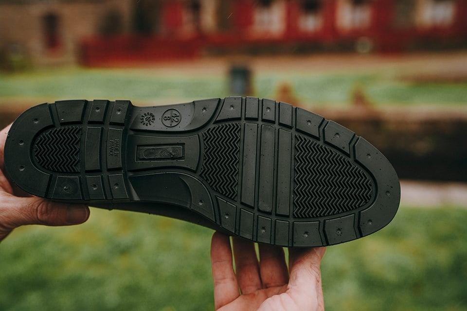 boots Montlimart conception semelles