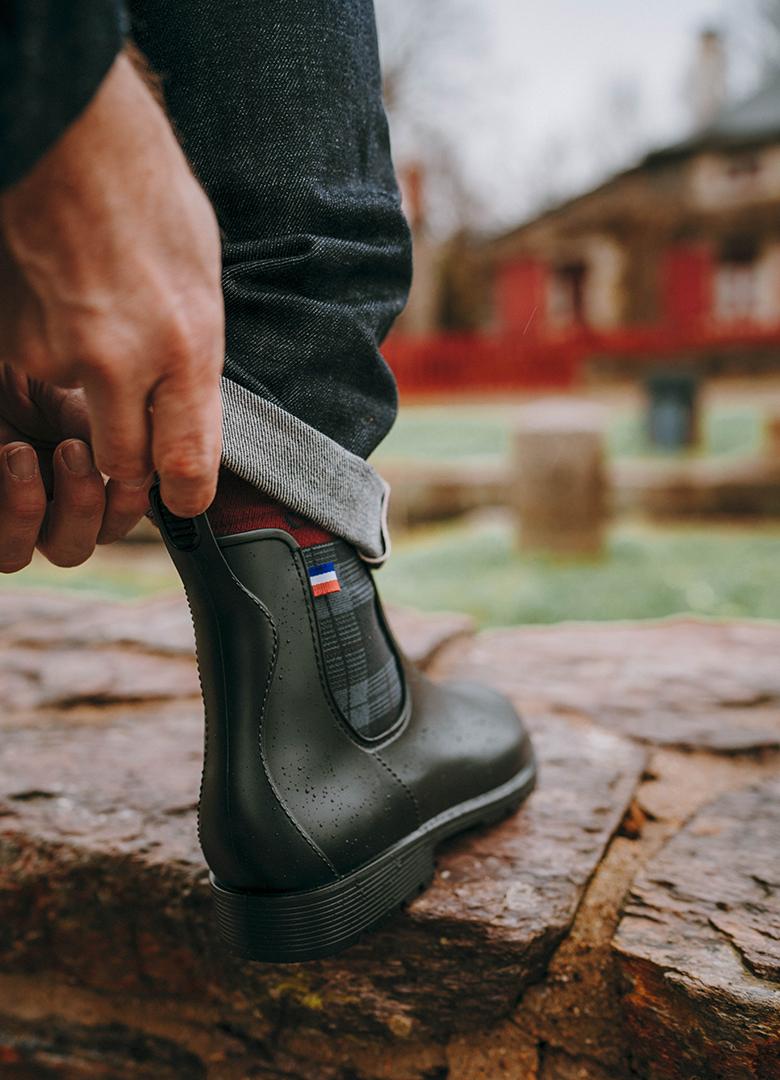 boots Montlimart essayage portrait languette