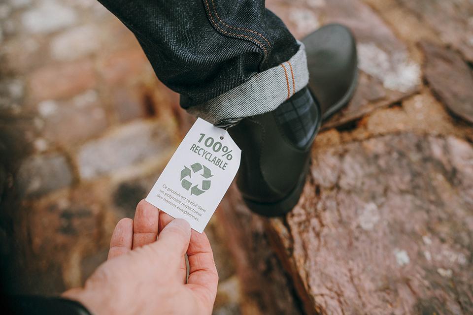 boots Montlimart fiche technique recyclable