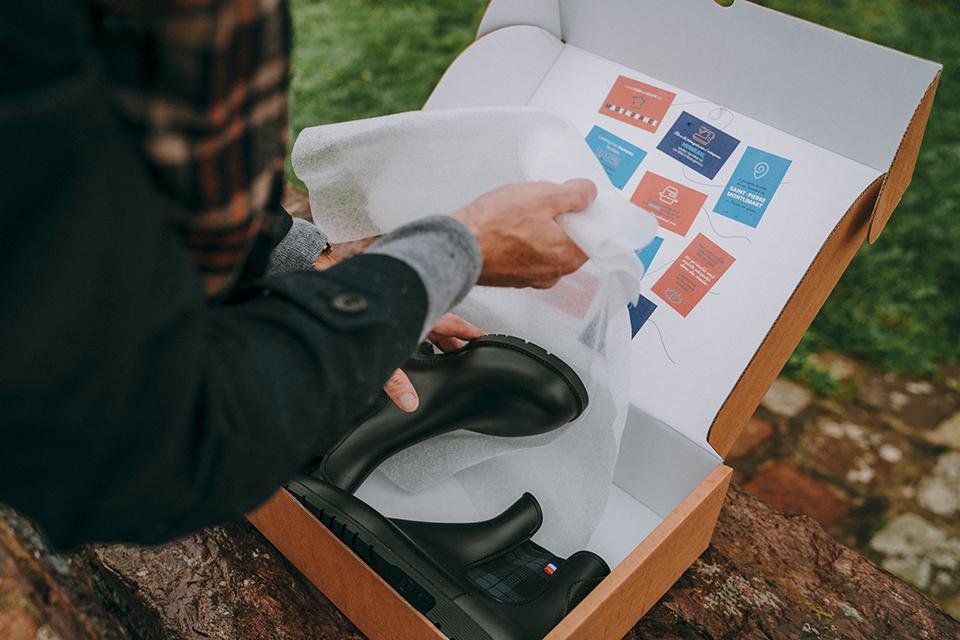 boots Montlimart presentation boite papier soie