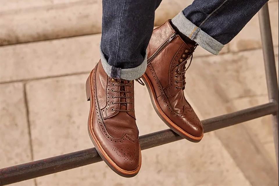 Boots Rudys marron