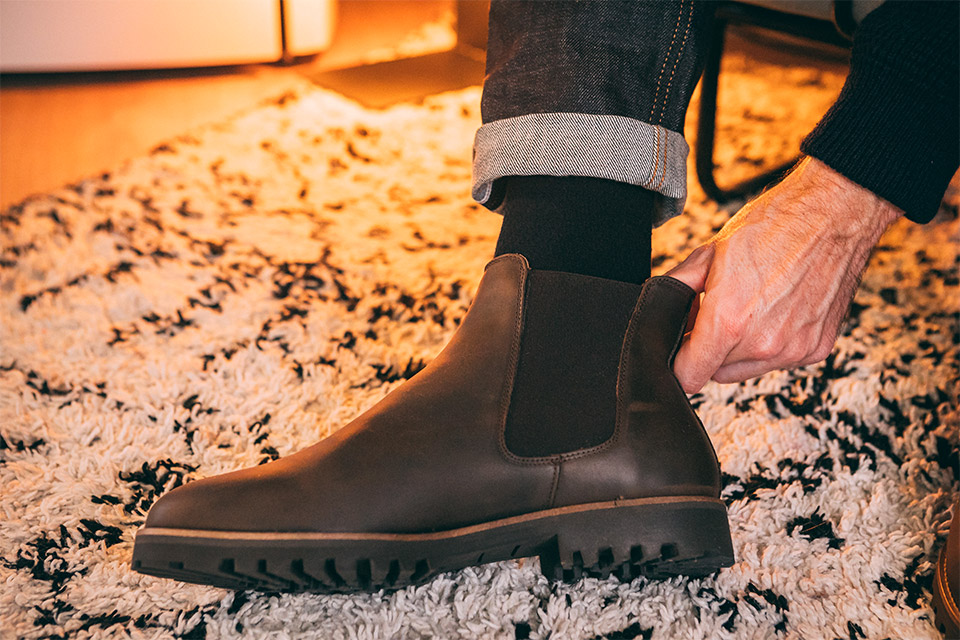 chelsea boots homme hiver