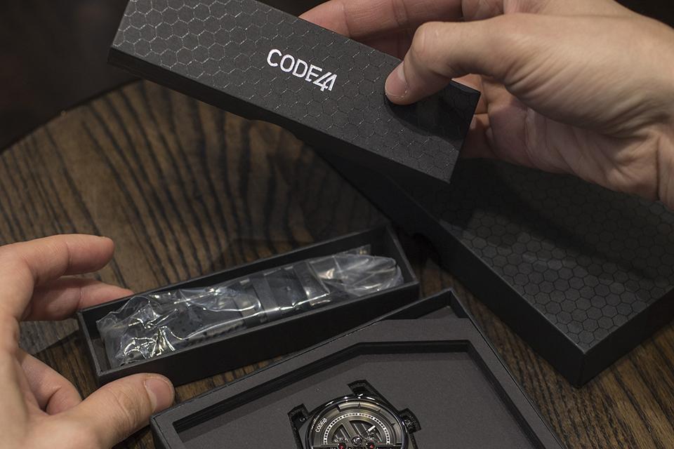 code41 presentation boite bracelet