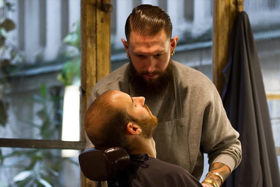 Coffret barbier