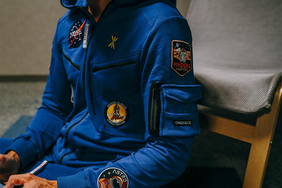Combinaison onepiece astronaute