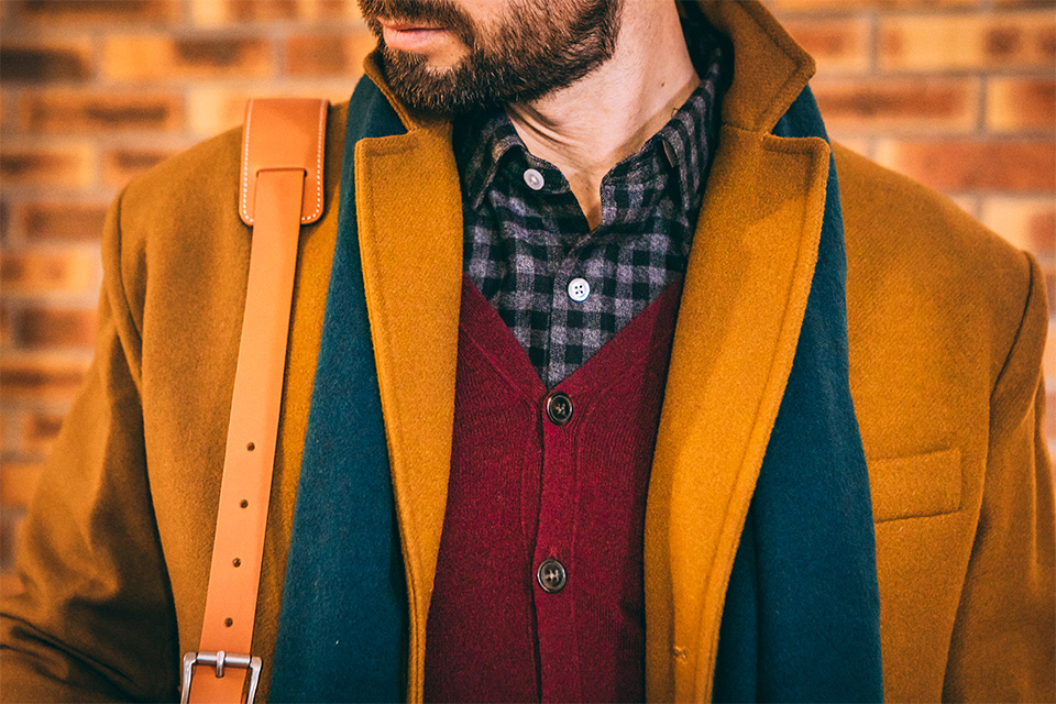 Look casual travail homme-hiver