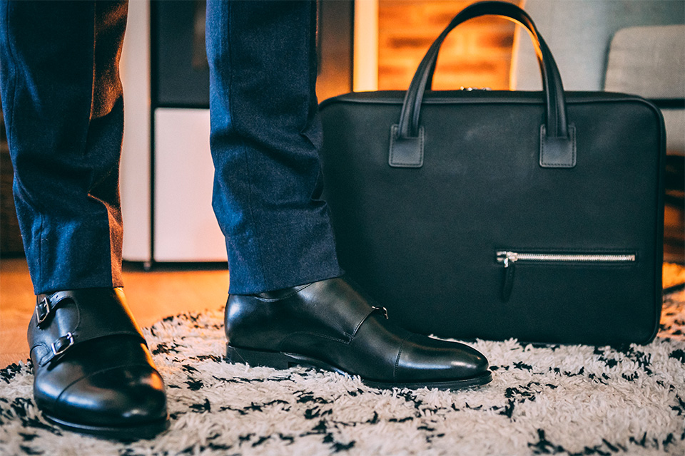 Look formel pantalon flanelle boots