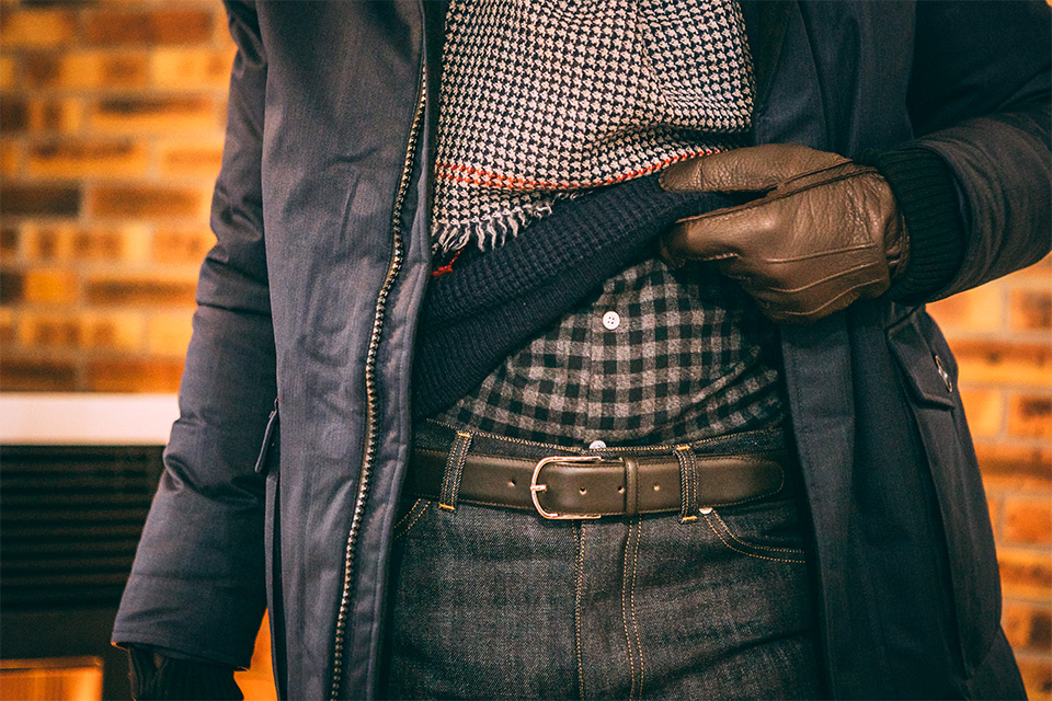 Look hiver froid homme