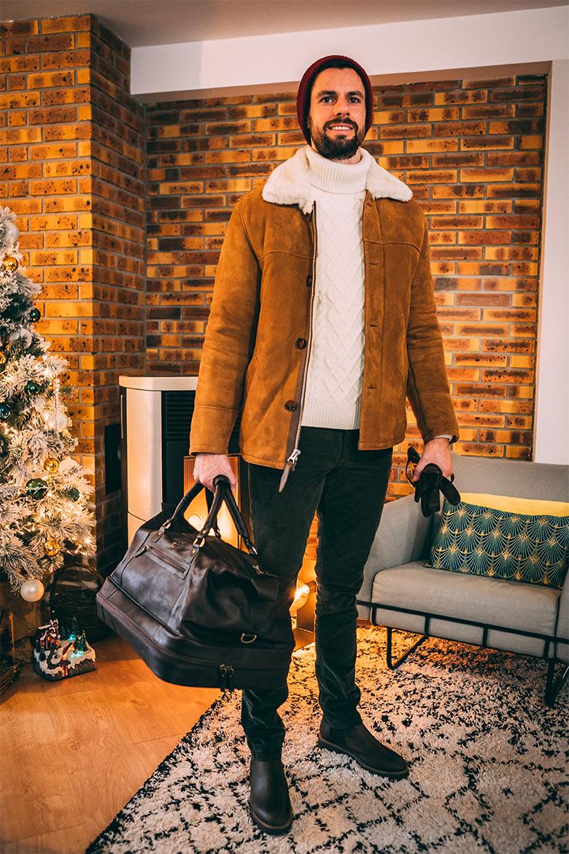 Look weekend homme hiver