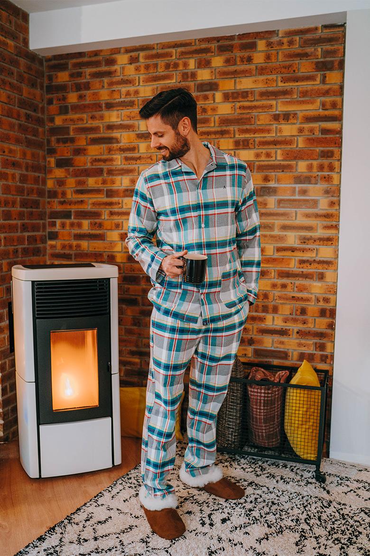 Pyjama classique homme
