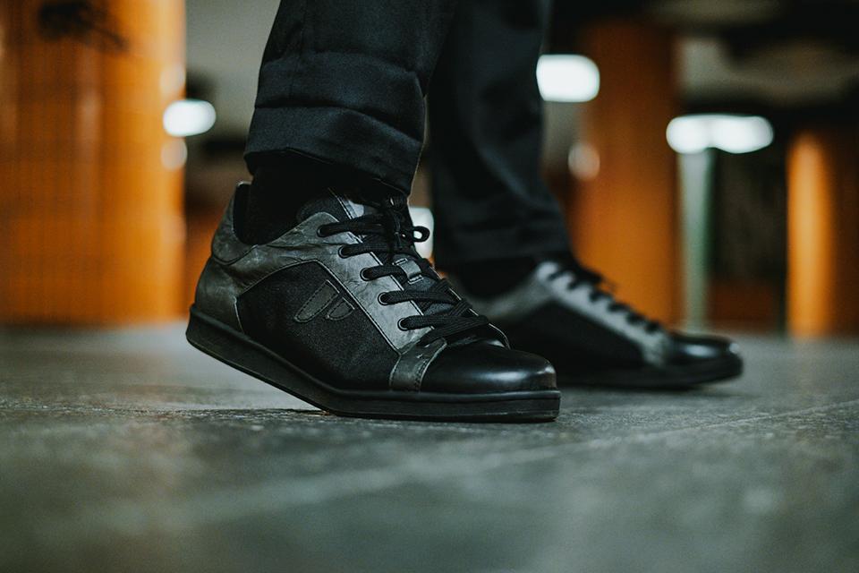 Sneakers paprcuts noires