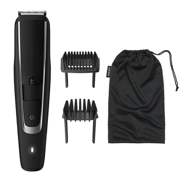tondeuse barbe philips beardtrimmer series 5000 idee cadeaux barbu
