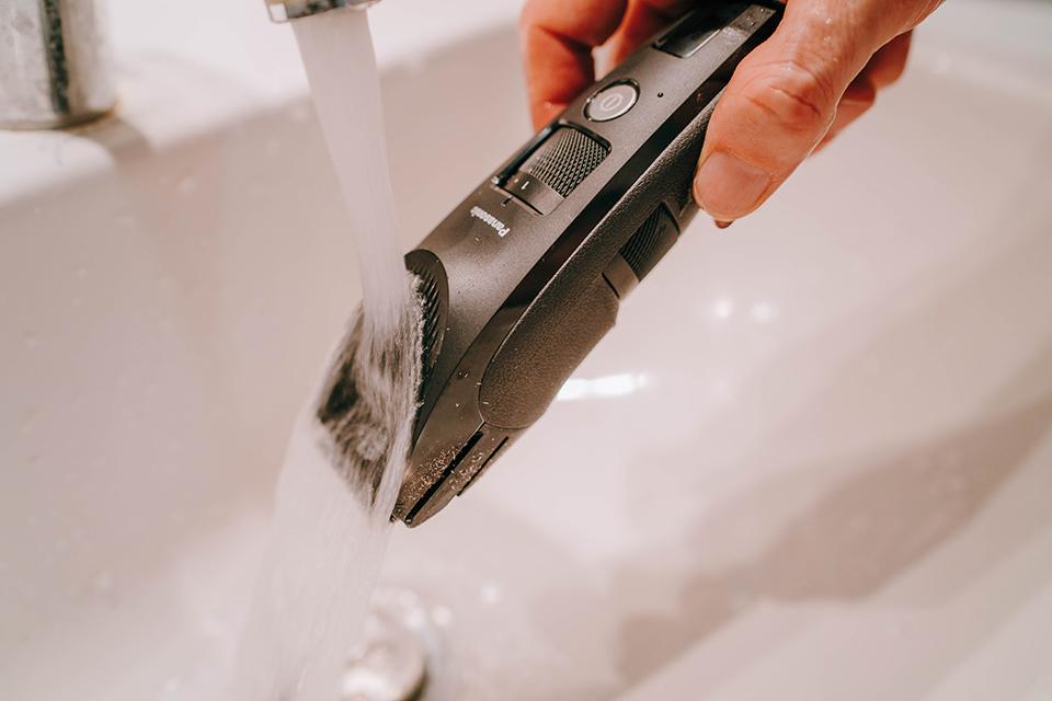 tondeuse panasonic ER-SC40-K test lavage