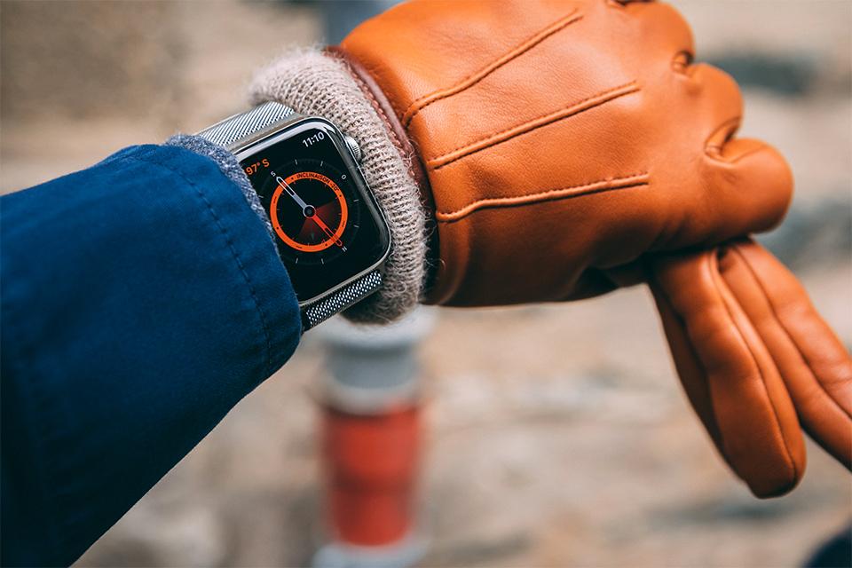 Apple watch 5 boussole