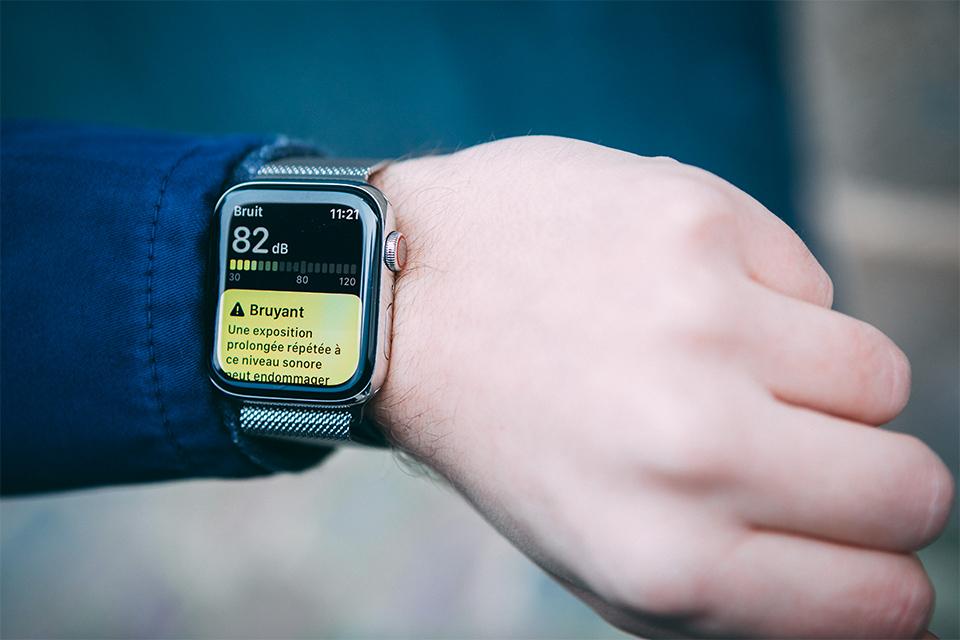 Apple watch 5 bruit