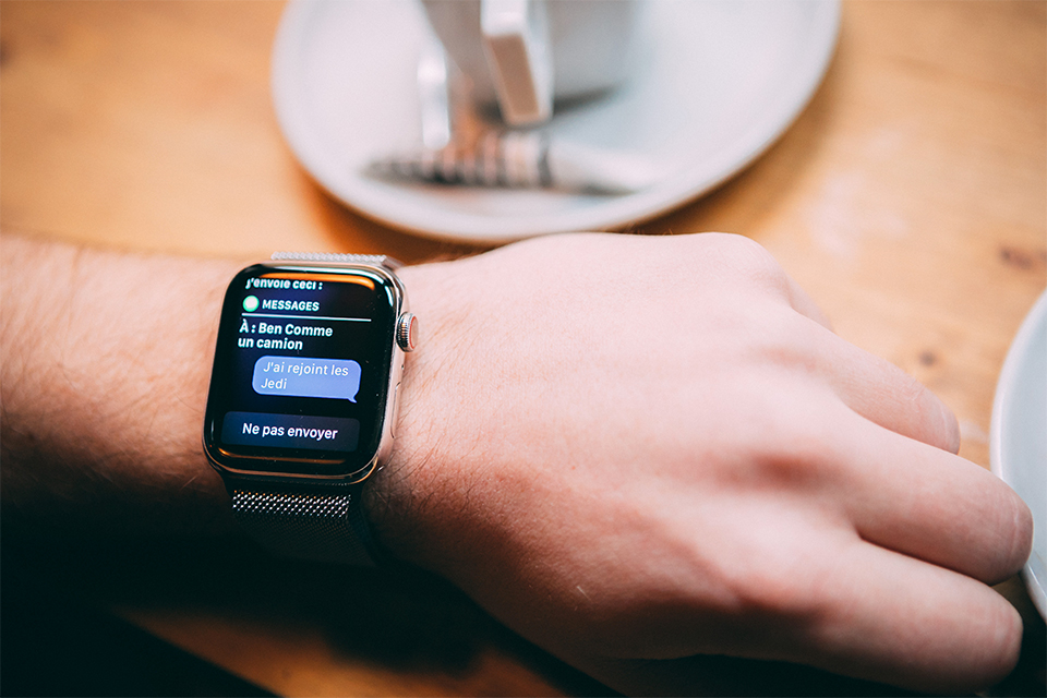 Apple watch 5 SMS