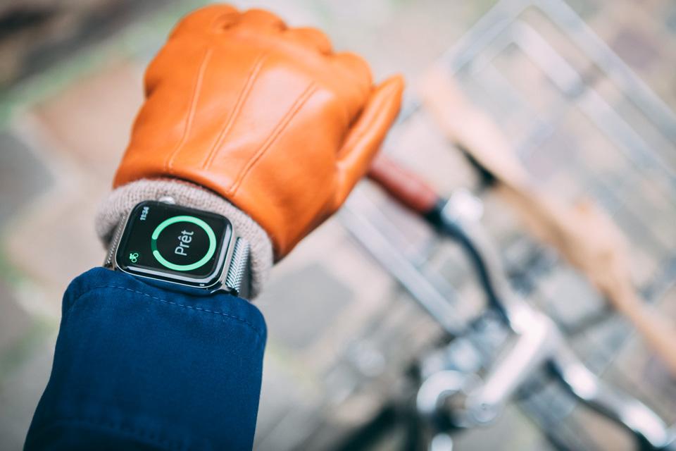 Apple watch 5 sport vélo