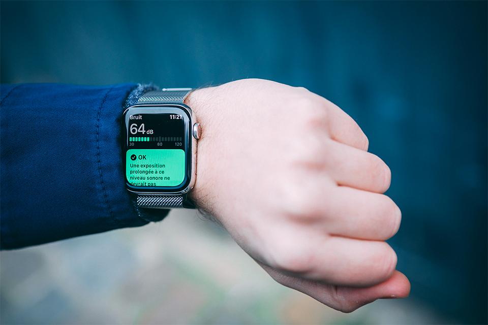 Apple watch series 5 App bruit