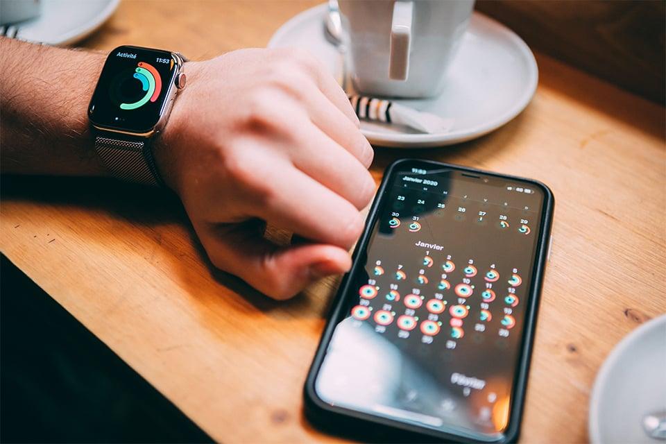 Apple watch series 5 suivi santé