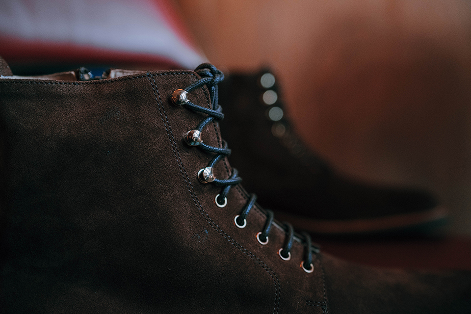 Boots Rudys Huster Velours Crochets