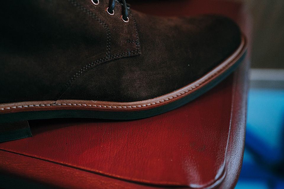 Boots Rudys Huster Velours Trepointe