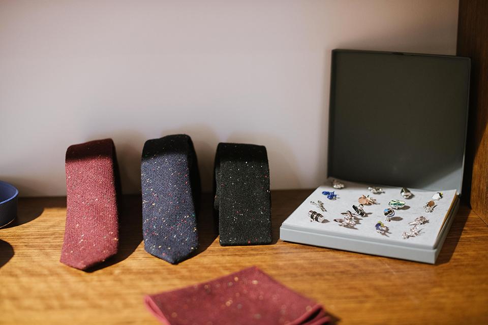 Boutique Samson Paris Madeleine accessoires cravates