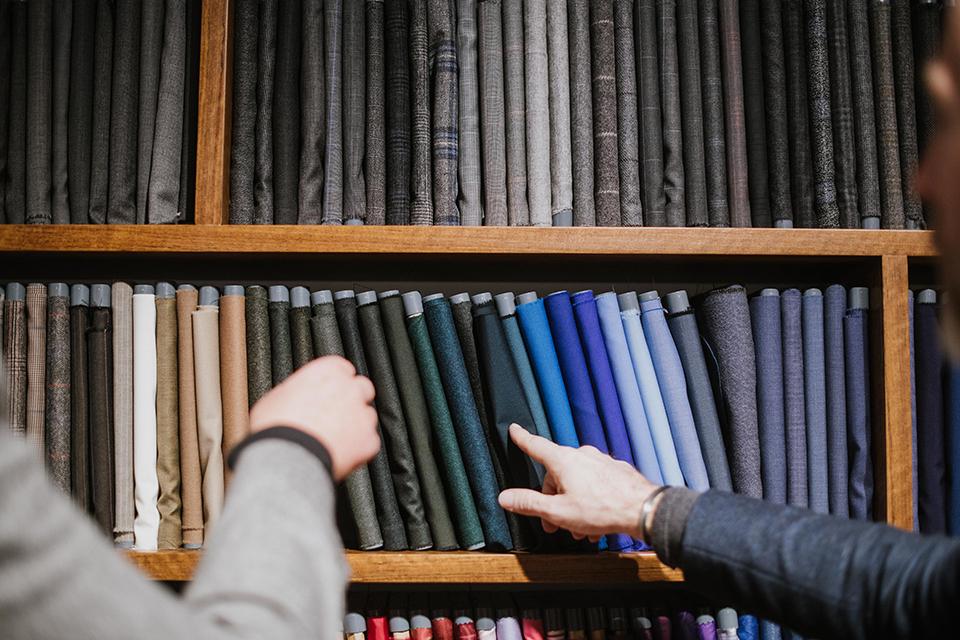 Boutique Samson Paris Madeleine tissus