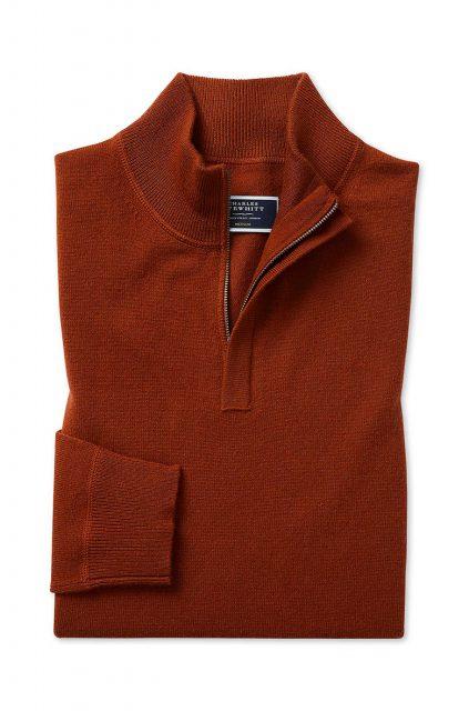 Charles Tyrwhitt Pull Orange
