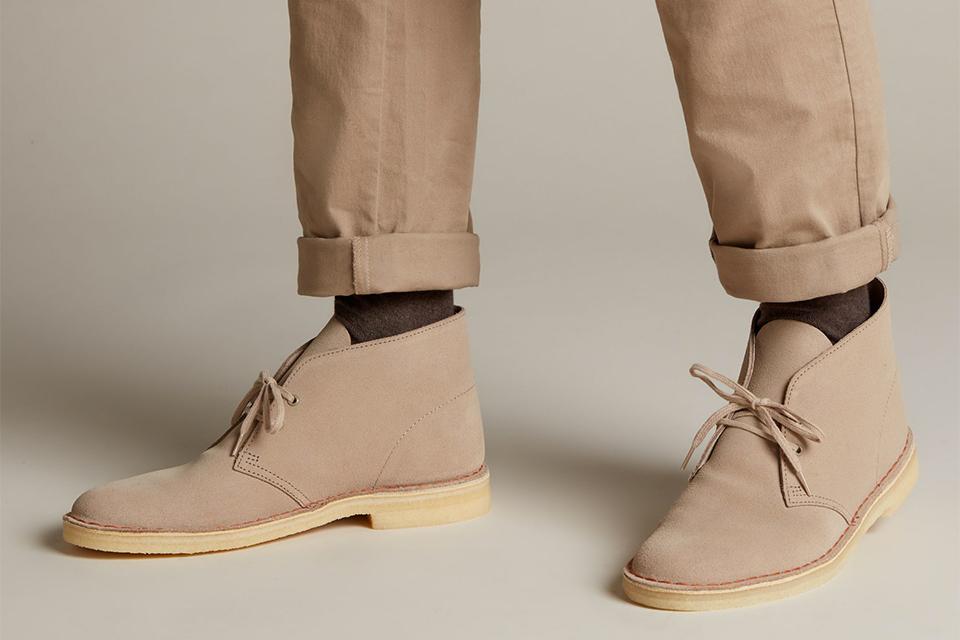 Clarks desert boots sable