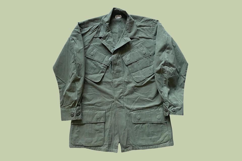 jungle jacket 1968 us army