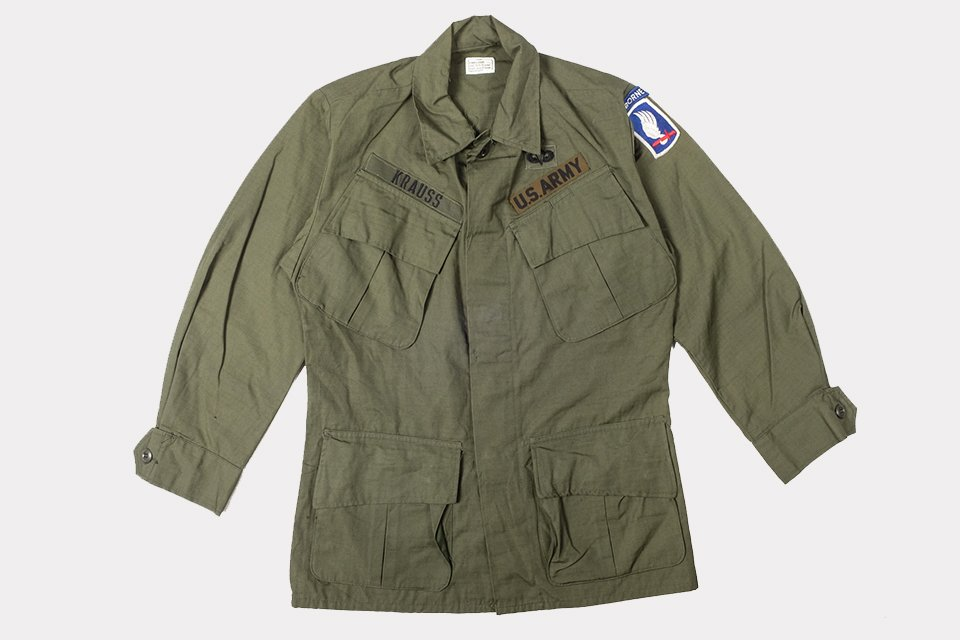 Jungle jacket ripstop us army
