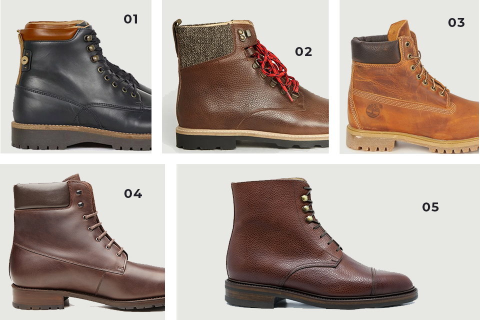 Selection chaussures boots 2 fw19