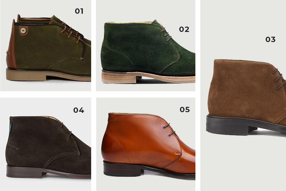 Selection chaussures chukka 2 fw19