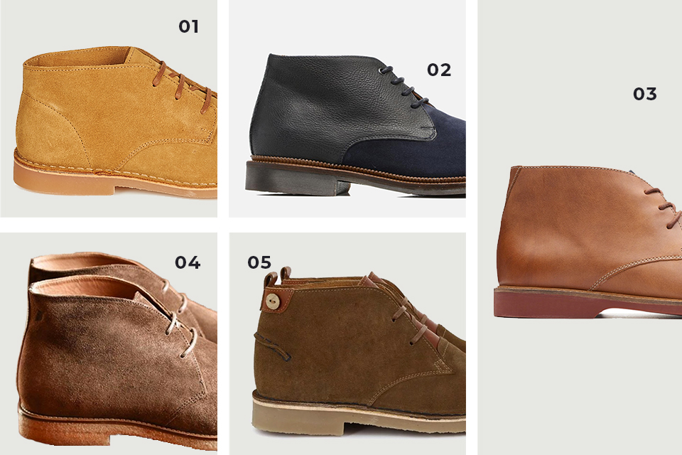 Selection chaussures desert 2 fw19