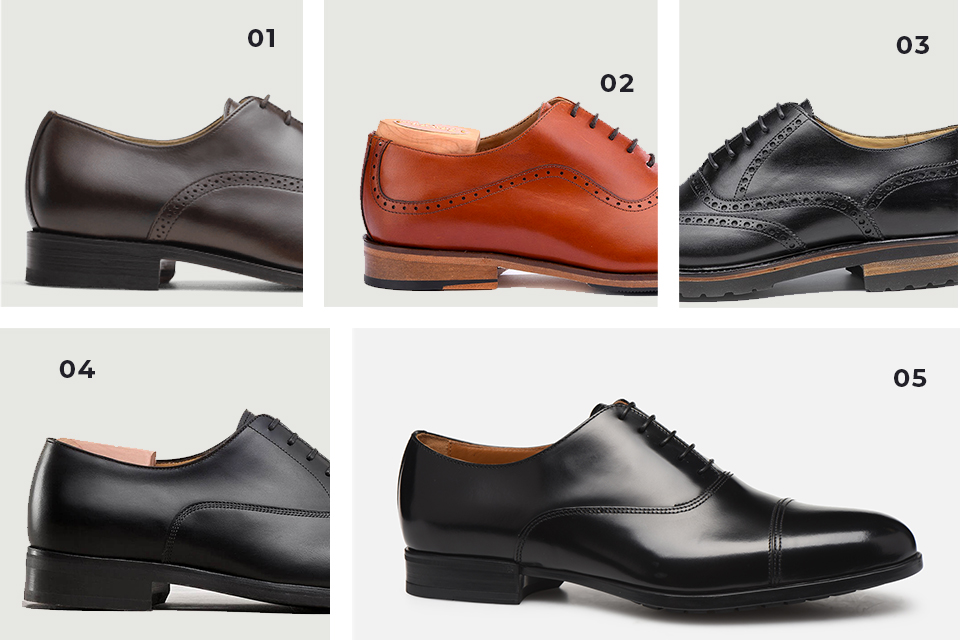 Selection chaussures richelieu 5 fw19