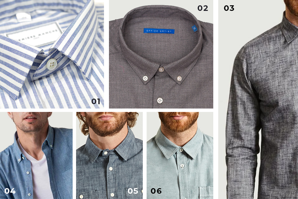selection chemises chambray fw19