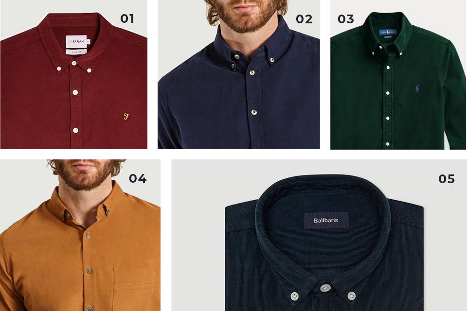 selection chemises velours fw19