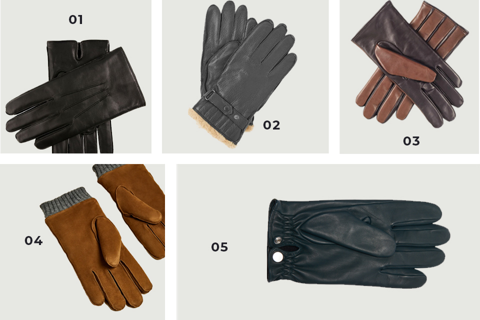 selection soldes gants cuir fw 19