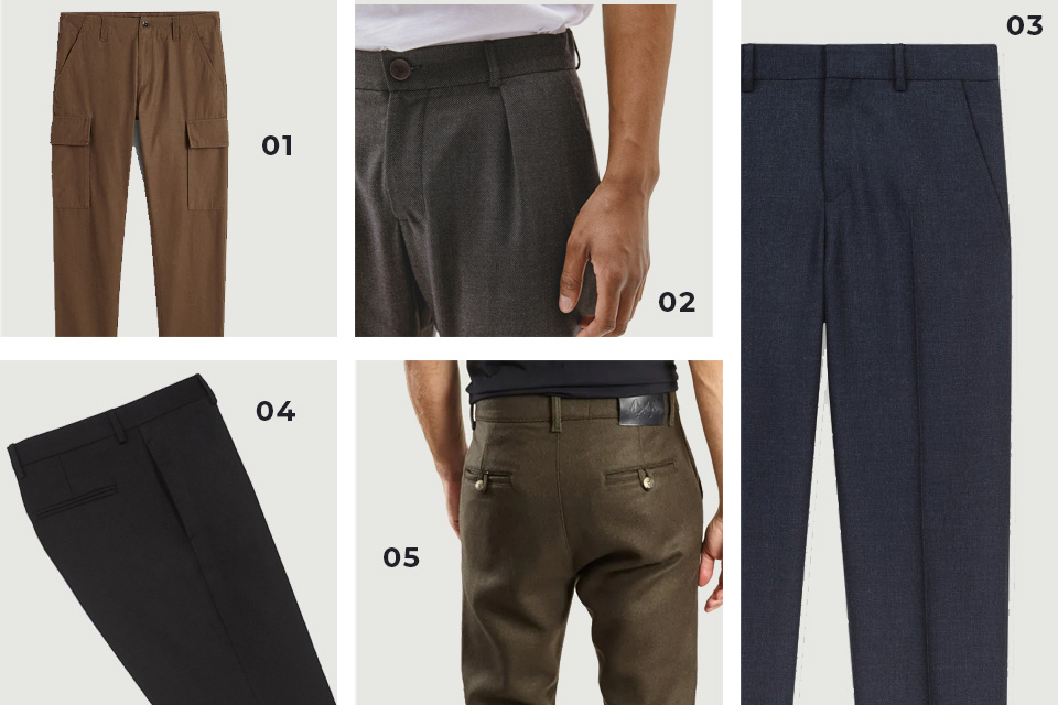 selection soldes pantalons divers fw19