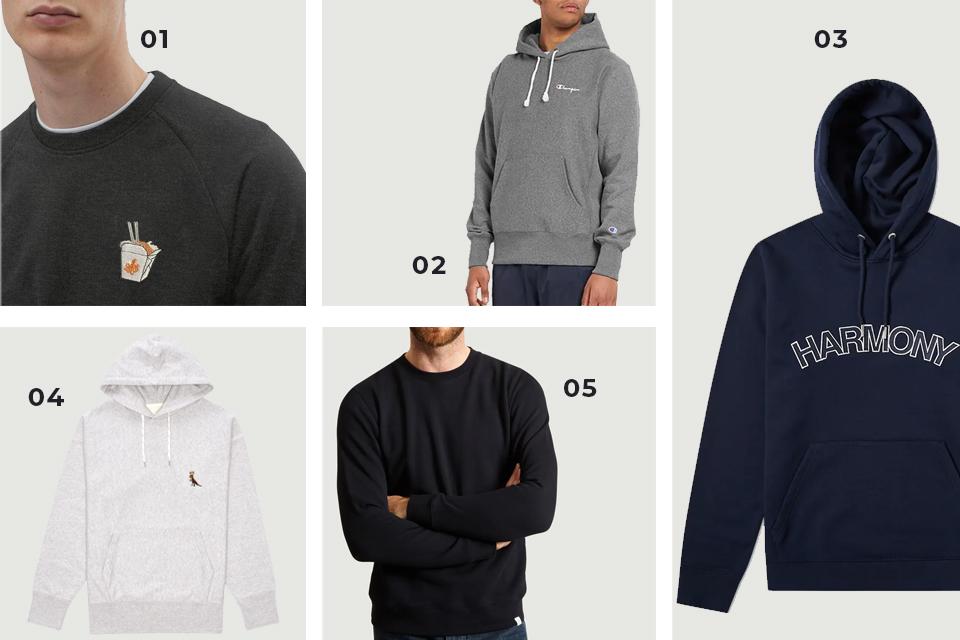Soldes fw19 sélection sweats hoodies