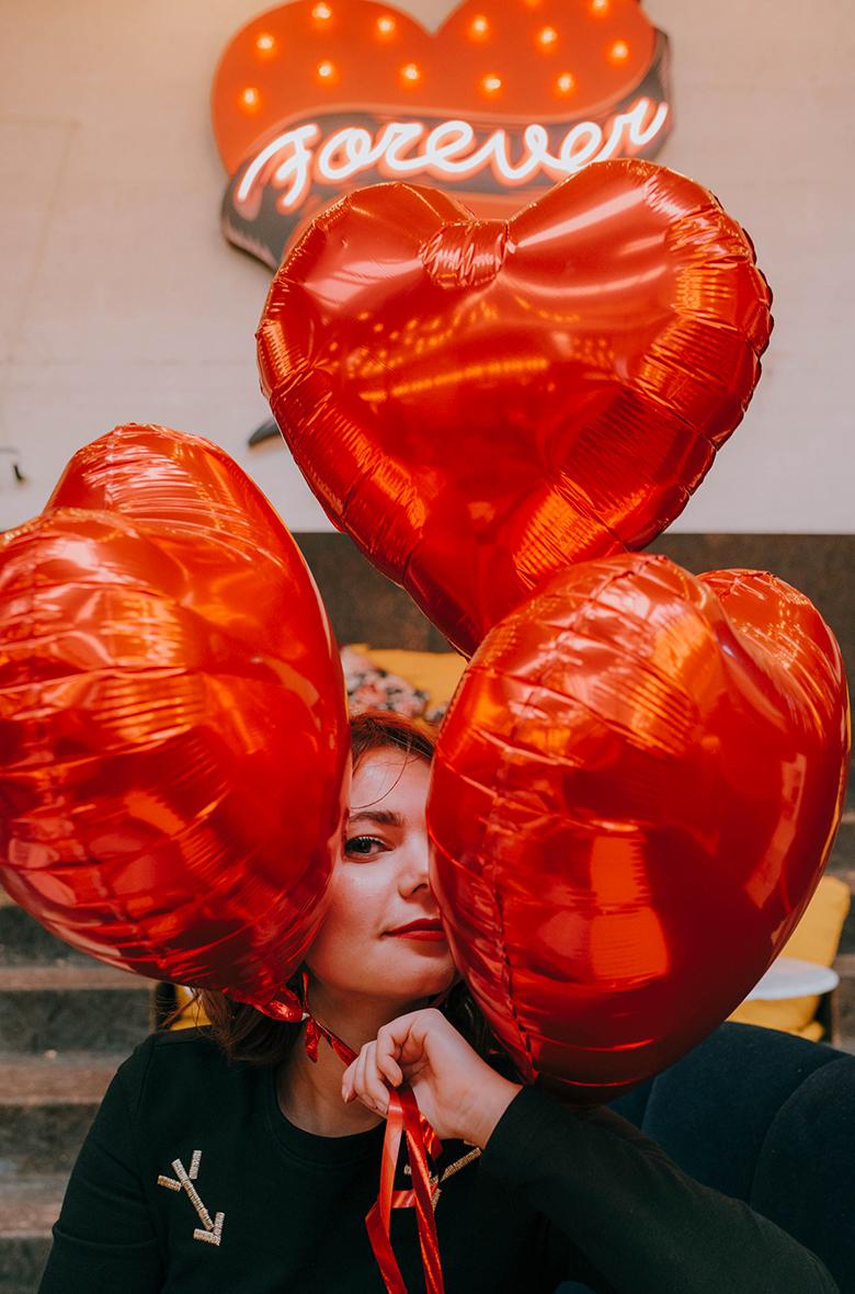 Ballon Rouge Helium