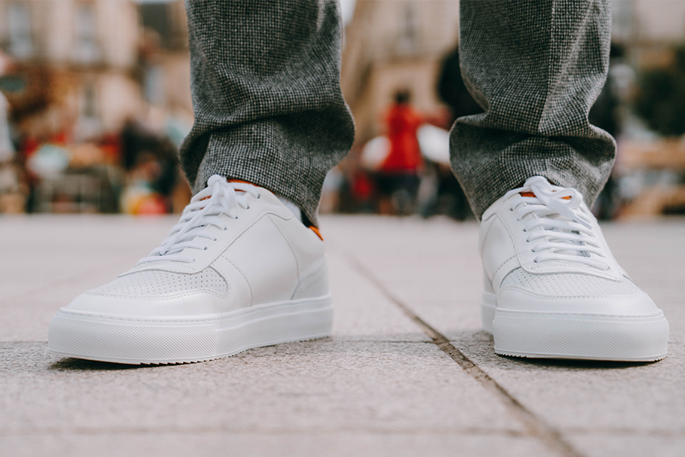 Sneakers Blanches Belledonne