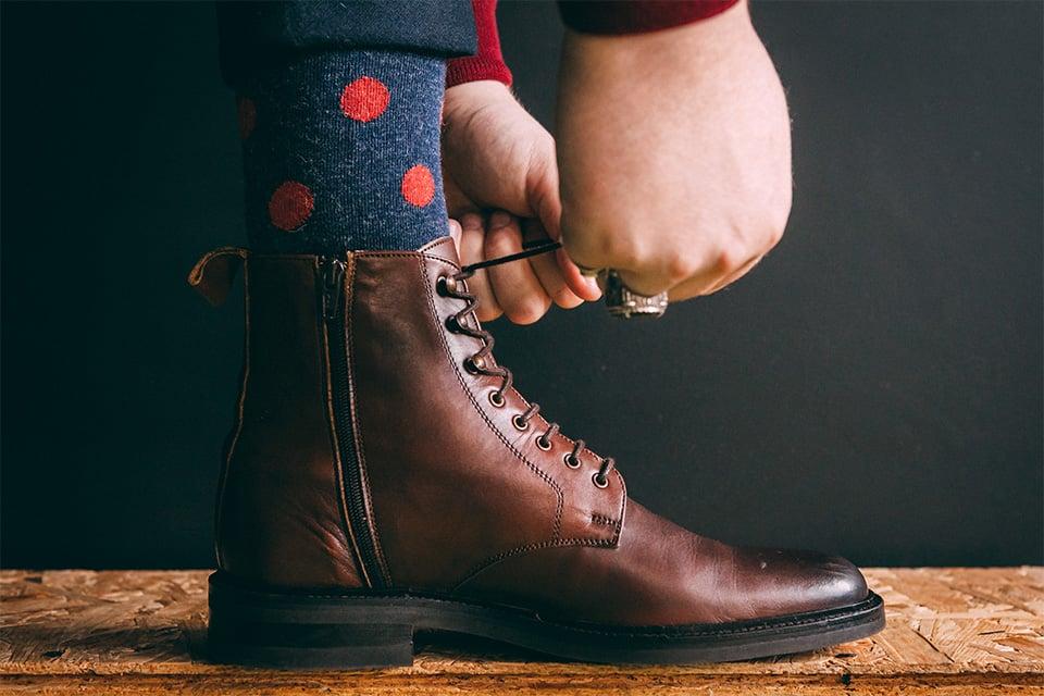 Chaussettes alpaga homme